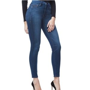Good American Good Waist medium blue jeans